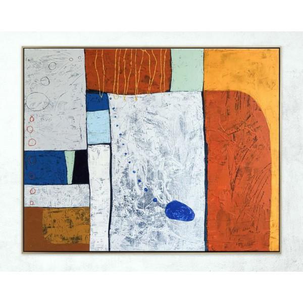 Картина абстракция, abst0017