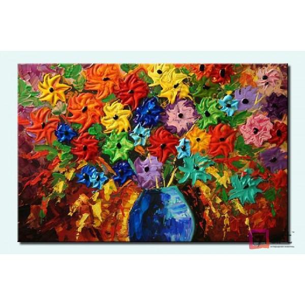 Картины цветы, цветы маслом, ART: fos_0008