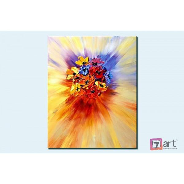 Картины цветы, цветы маслом, ART: fos_0012