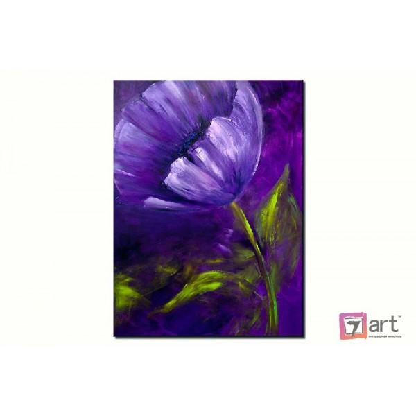 Картины цветы, цветы маслом, ART: fos_0014