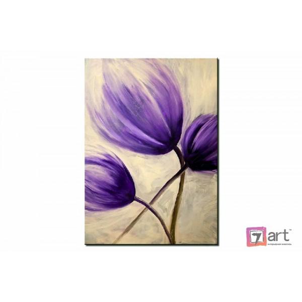 Картины цветы, цветы маслом, ART: fos_0015
