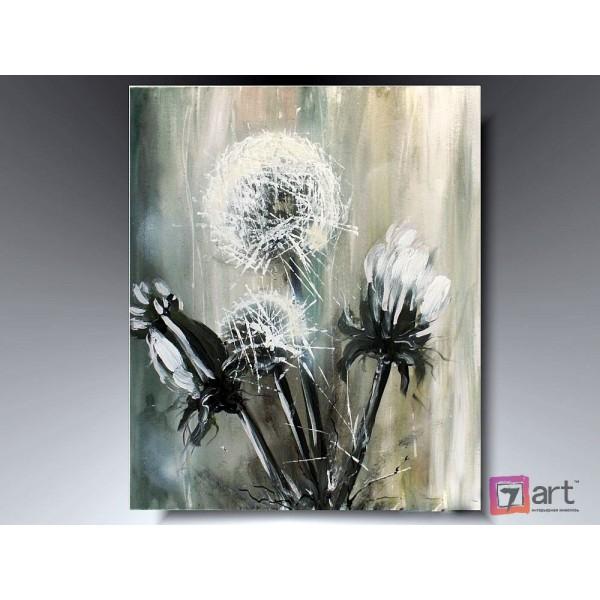 Картины цветы, цветы маслом, ART: fos_0017