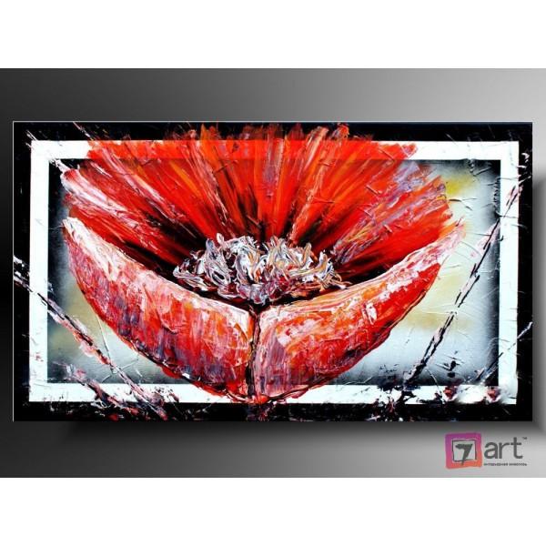 Картины цветы, цветы маслом, ART: fos_0024