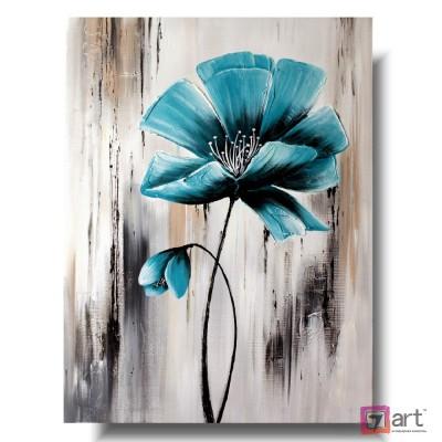 Картины цветы, цветы маслом, ART: fos_0029