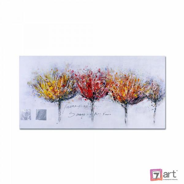 Картины цветы, цветы маслом, ART: fos_0084
