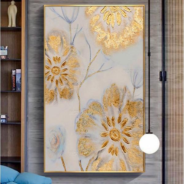 Картина цветы, цветы маслом, ART: flwr0052