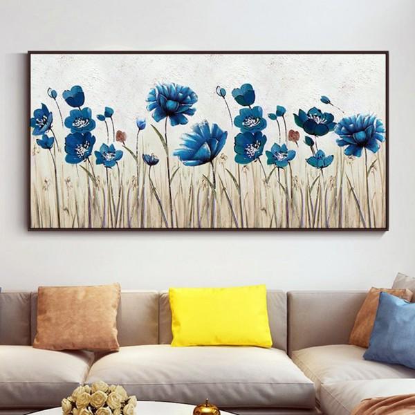 Картина цветы, цветы маслом, ART: flwr0070
