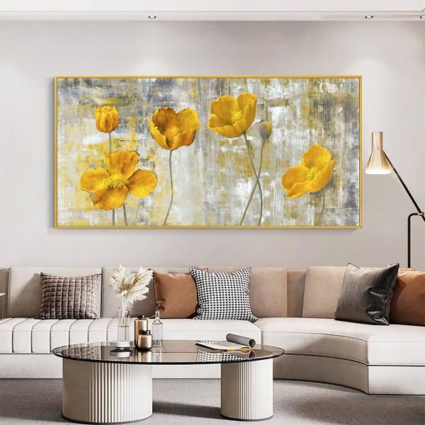 Картина цветы, цветы маслом, ART: flwr0084