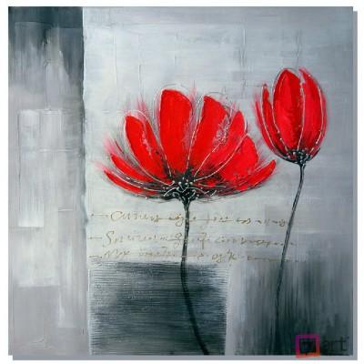 Картины цветы, цветы маслом, ART: fos_0116