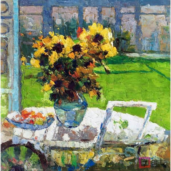 Картины цветы, цветы маслом, ART: fos_0126