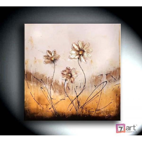 Картины цветы, цветы маслом, ART: fos_0127