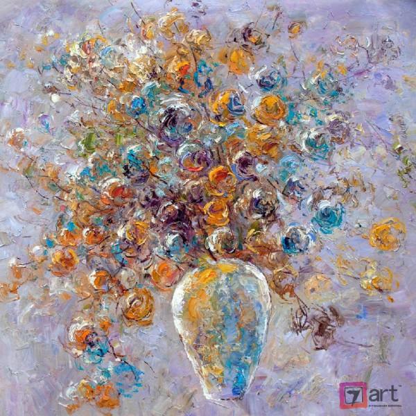 Картины цветы, цветы маслом, ART: fos_0129