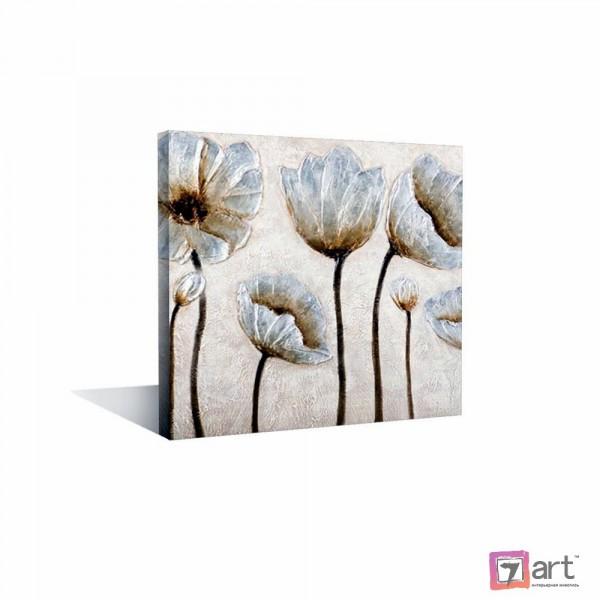 Картины цветы, цветы маслом, ART: fos_0131