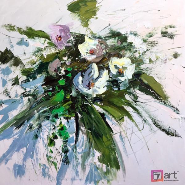 Картины цветы, цветы маслом, ART: fos_0133