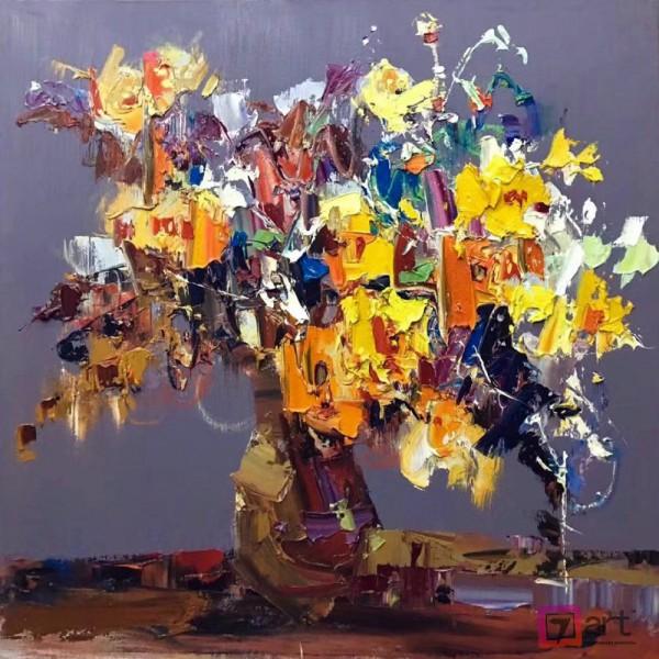Картины цветы, цветы маслом, ART: fos_0135