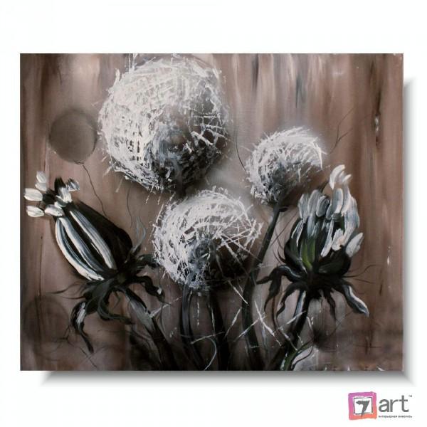 Картины цветы, цветы маслом, ART: fos_0138