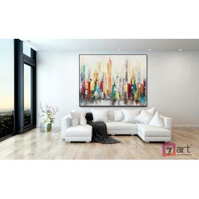 Картины на холсте, городской пейзаж, ART: syt_0002