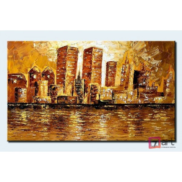 Картины на холсте, городской пейзаж, ART: syt_0003