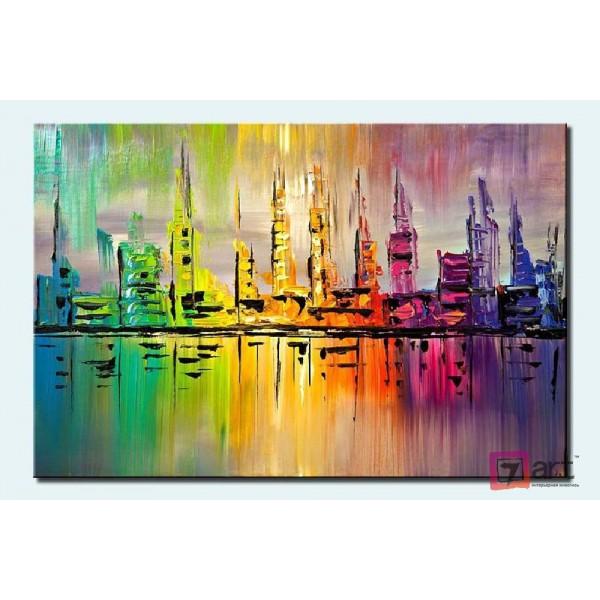 Картины на холсте, городской пейзаж, ART: syt_0004