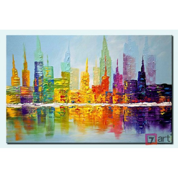 Картины на холсте, городской пейзаж, ART: syt_0005