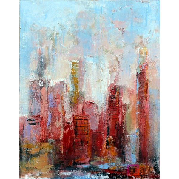 Картины на холсте, городской пейзаж, ART: syt_0009