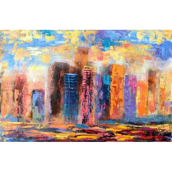 Картины на холсте, городской пейзаж, ART: syt_0010