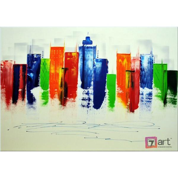 Картины на холсте, городской пейзаж, ART: syt_0012