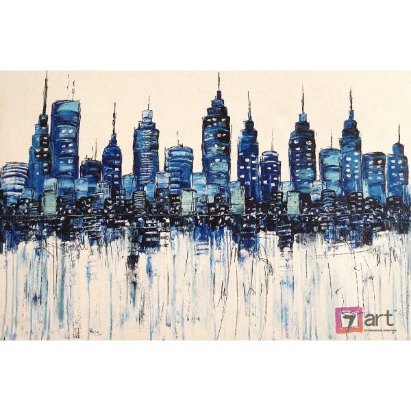 Картины на холсте, городской пейзаж, ART: syt_0013