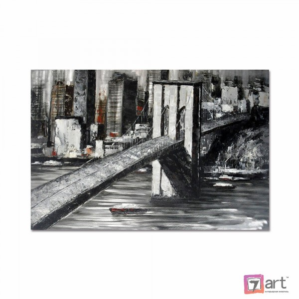 Картины на холсте, городской пейзаж, ART: syt_0014