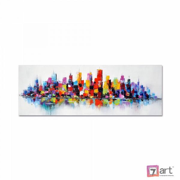Картины на холсте, городской пейзаж, ART: syt_0051
