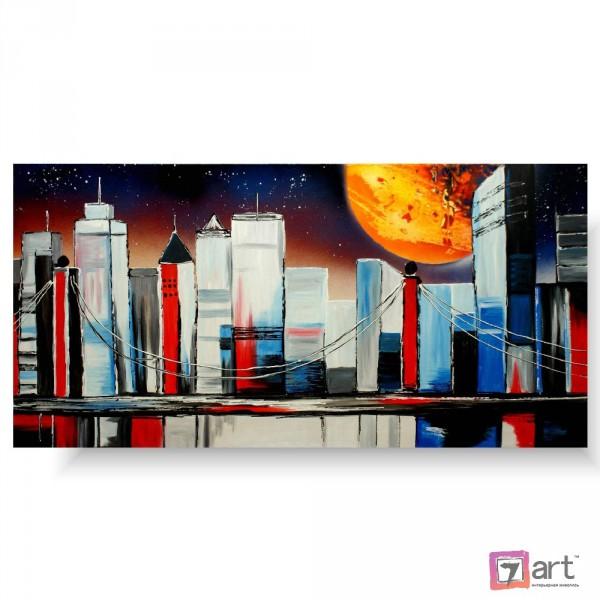 Картины на холсте, городской пейзаж, ART: syt_0018