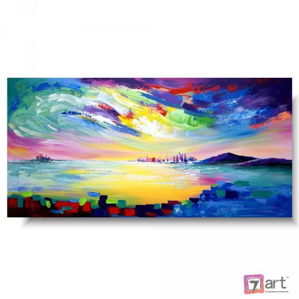 Картины на холсте, городской пейзаж, ART: syt_0019