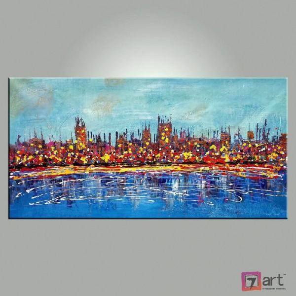 Картины на холсте, городской пейзаж, ART: syt_0020
