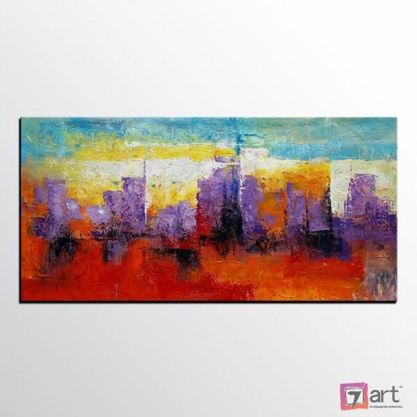 Картины на холсте, городской пейзаж, ART: syt_0023