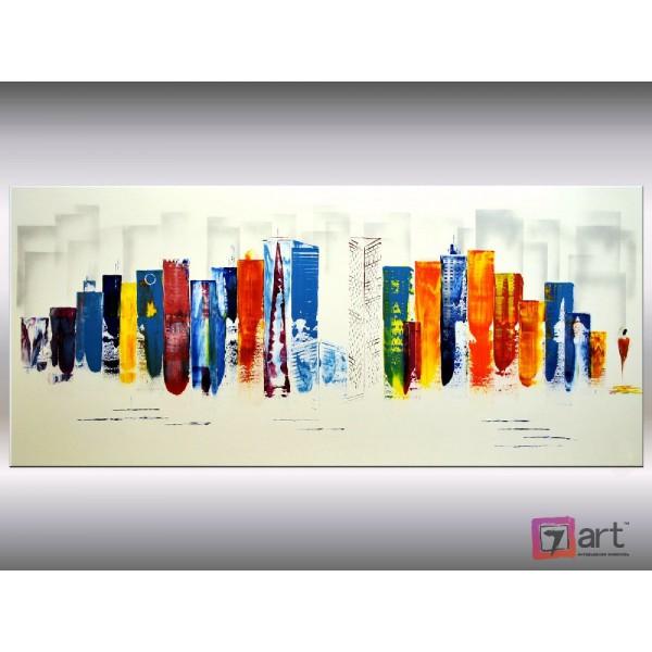Картины на холсте, городской пейзаж, ART: syt_0025