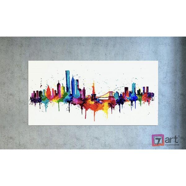 Картины на холсте, городской пейзаж, ART: syt_0026