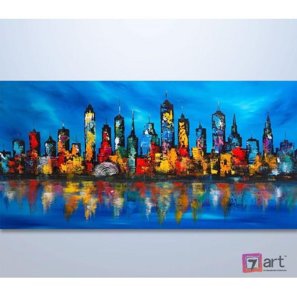 Картины на холсте, городской пейзаж, ART: syt_0033