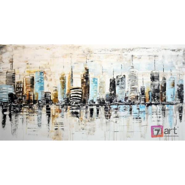 Картины на холсте, городской пейзаж, ART: syt_0034