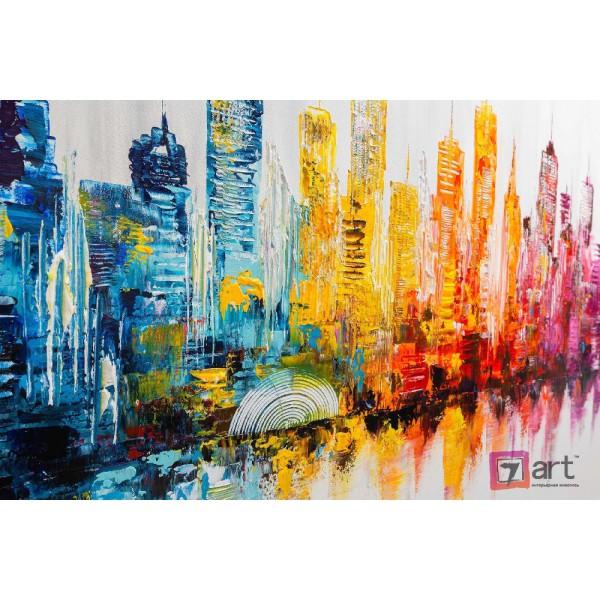 Картины на холсте, городской пейзаж, ART: syt_0035
