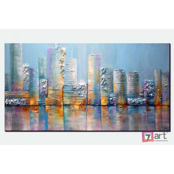 Картины на холсте, городской пейзаж, ART: syt_0037