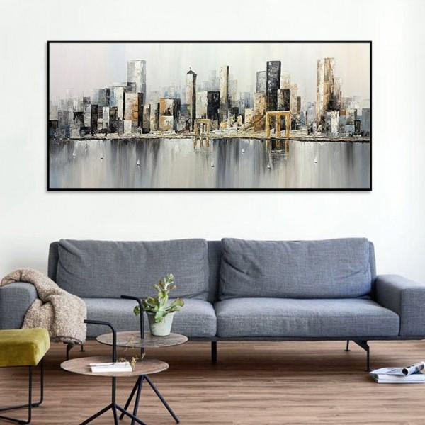 Картины на холсте, городской пейзаж, ART: sity0026