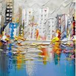 Картины на холсте, городской пейзаж, ART: sity0038