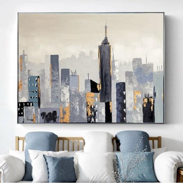 Картины на холсте, городской пейзаж, ART: sity0013