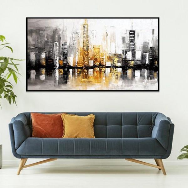 Картины на холсте, городской пейзаж, ART: sity0008