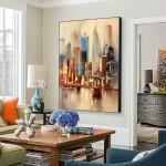 Картины на холсте, городской пейзаж, ART: sity0017