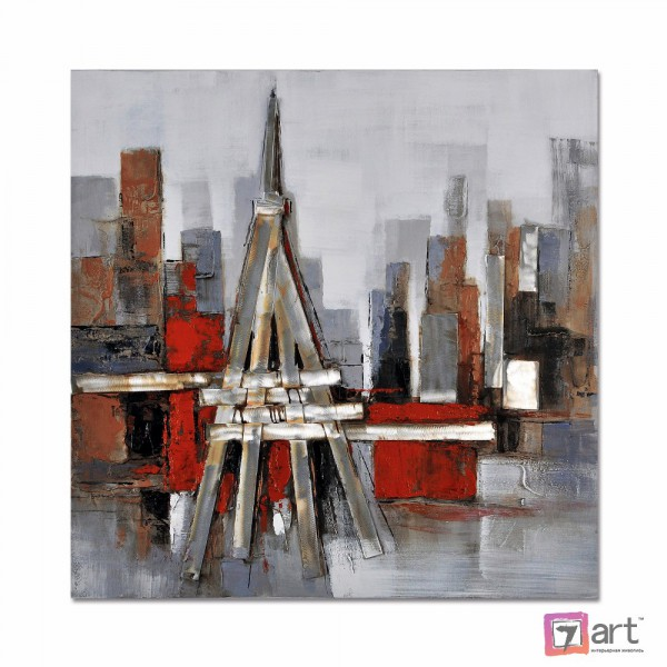 Картины на холсте, городской пейзаж, ART: syt_0045