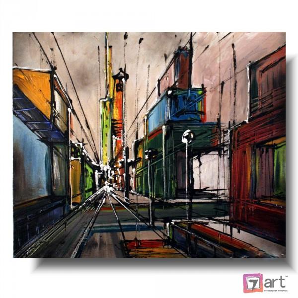 Картины на холсте, городской пейзаж, ART: syt_0048