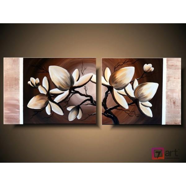 Модульные картины цветы, ART: fosm_0018