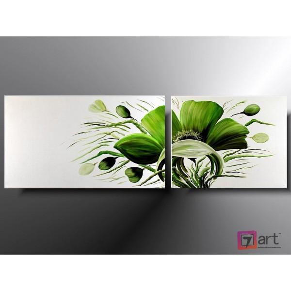 Модульные картины цветы, ART: fosm_0024