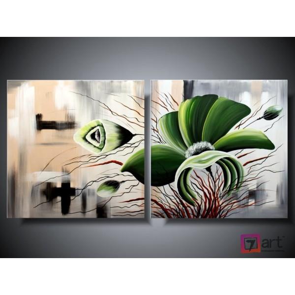 Модульные картины цветы, ART: fosm_0034